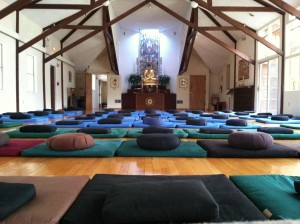 Meditation retreat - meditation Center- retreat center - one day retreat-dharma room