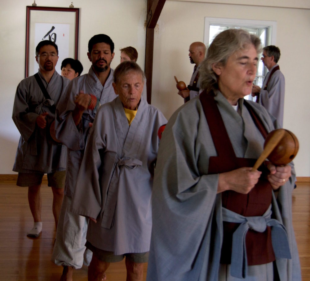 Kido Chanting Retreat Saturday November 21st - Chanting Retreat - Meditation Retreat - Meditation Center - Providence Zen Center - Kido Nancy 8.15 far end cropped